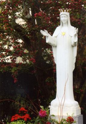 La Vierge au Cœur d'Or - Beauraing